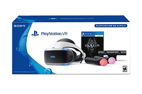 Discounted PlayStation VR - Skyrim Bundle