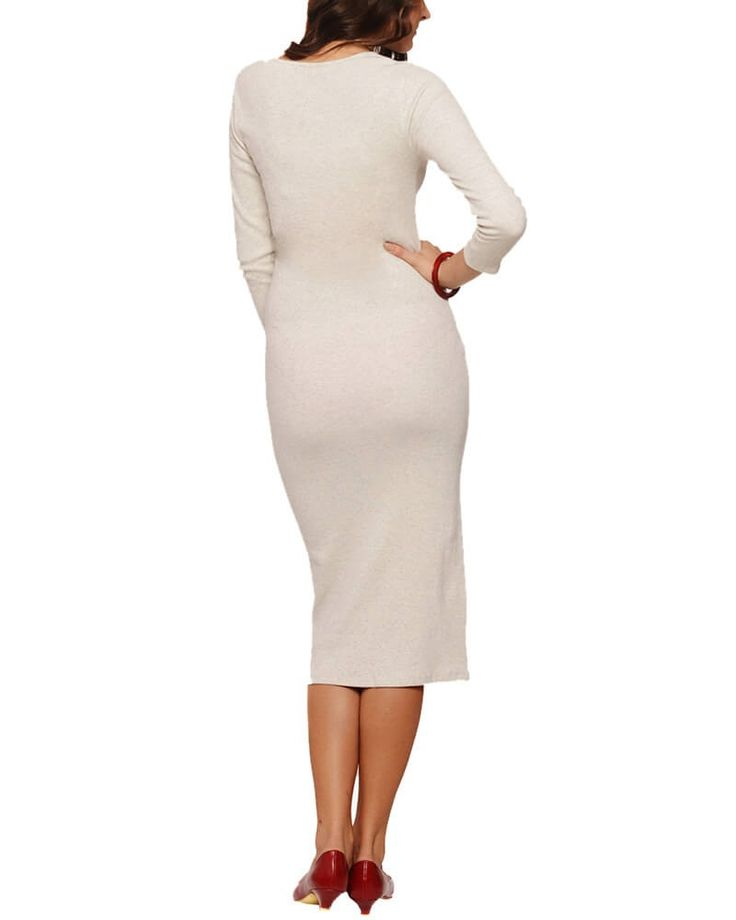 French River Ivory Dress