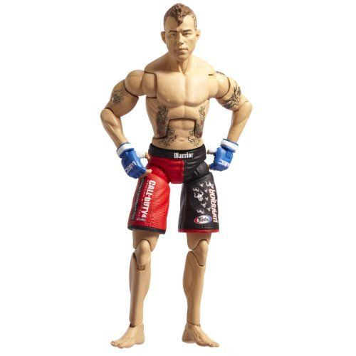 "Deluxe UFC Figures #6 Jens Pulver by UFC. $8.99. 30 unique points of articulation. Highly detailed decoration matches the fighter?s apparel from specific UFC events. Deluxe 7"" action figure. From the Manufacturer                Official UFC deluxe 7"" Jens Pulver figure.                                    Product Description                Jens Johnnie Pulver is an American mixed martial artist (MMA). He was the first Ultimate Fighting Championship (UFC) lightweight champion, and ..."