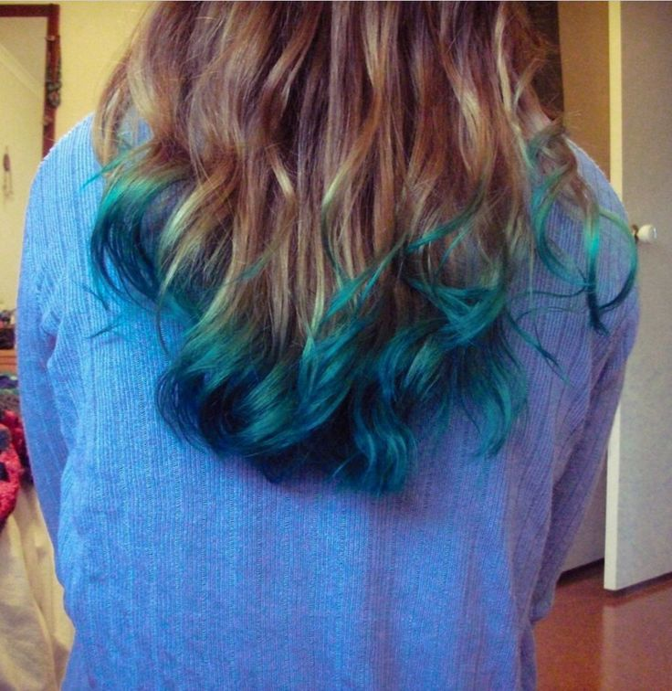 medium blond blue green fashion