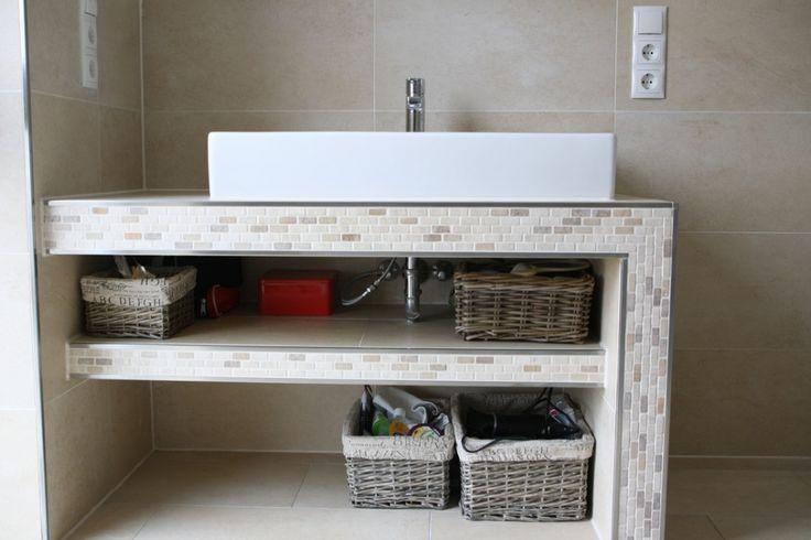 Die 25 besten ideen zu waschtisch selber bauen auf pinterest badezimmer waschtische - Trockenbau wohnwand ...