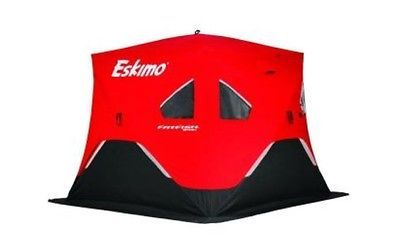 Eskimo Fatfish 949 Insulated Ice Fishing Shelter Tent Portable Large Heavy Duty