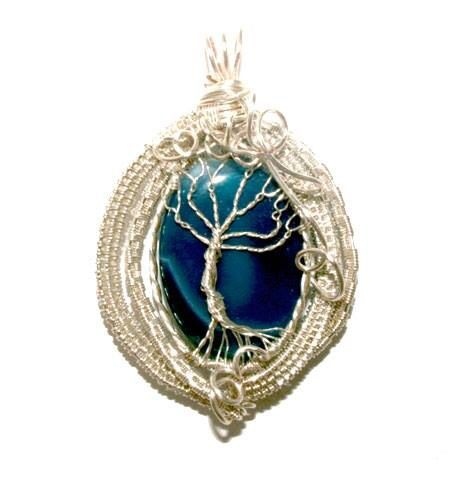 Wire Weaved Tree of Life with 28g, 20g wire