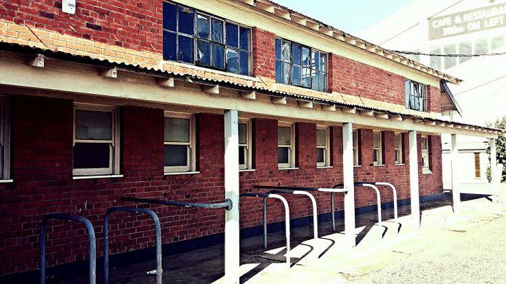 Old tote building, Hawera Racecourse, Taranaki, New Zealand. Photo Kylie Wetherall