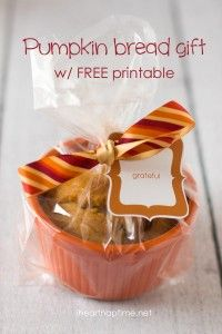 Thanksgiving gift idea with FREE printable
