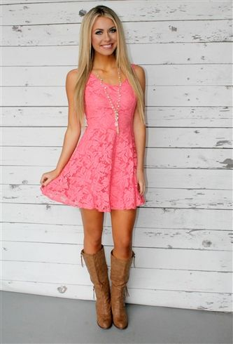Lace, Lace, and MORE Lace!! Who doesn't love lace?? Our Holding On To You Lace dress features a v neck line in the front and back. This dress is fully lined with a see through lace overlay.