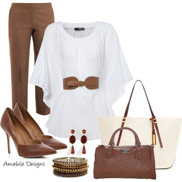 Classy Polyvore Work Outfits
