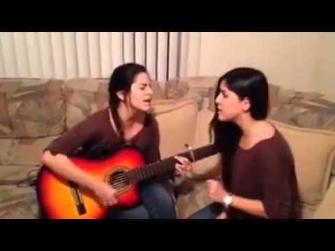 Lizeth y lisbeth interpretan Dime de Julion Alvarez - YouTube