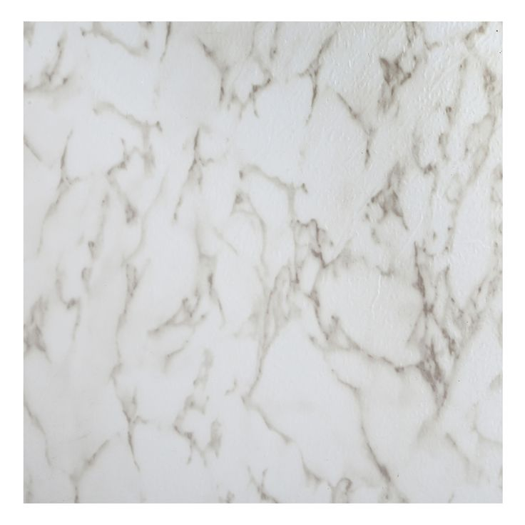 Colours Marble Effect Self Adhesive Vinyl Tile Pack 1.02m² |  Departments | DIY at B&Q. These could update the kitchen quickly and easily and marble is very in vogue at the moment. Would new cupboard doors and marble effect tiles just show up the counter tops even more though? Could they be painted within budget i wonder