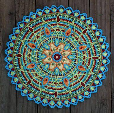 Resultado de imagem para crochet mandala