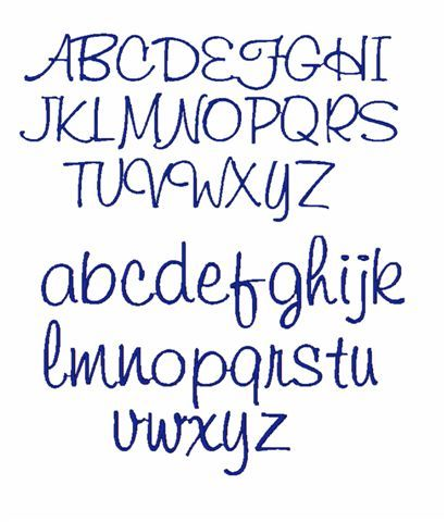 Cool Girly Fonts Alphabet Pixshark Images