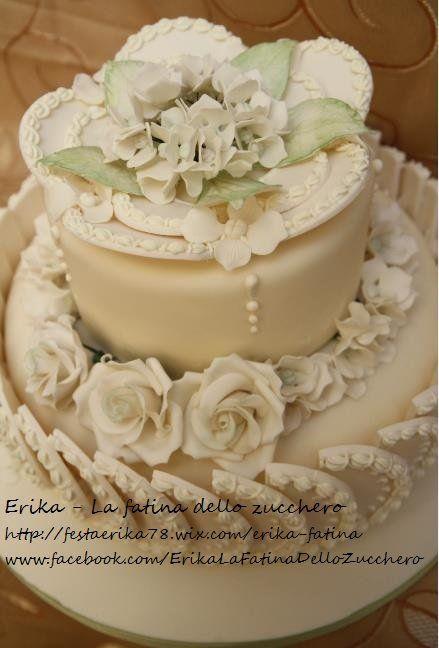 10°Anniversary - by fatinadellozucchero @ CakesDecor.com - cake decorating website