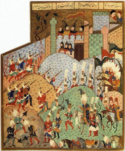 The Siege of Rhodes, 1522, Süleymanname