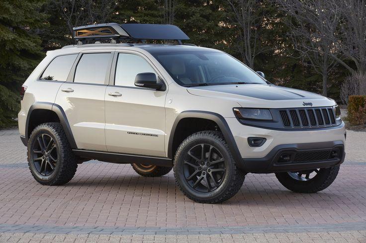 Jeep Grand Cherokee Ecodiesel Trail Warrior Concept Vehicle 2014