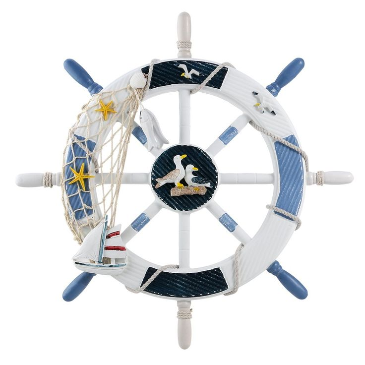 WINOMO 18-Inch Wheel Wall Decor Nautical Decor Nautical Boat Steering Wheel with Invisible Strengthening Nail >>> Check this awesome product by going to the link at the image. (This is an affiliate link and I receive a commission for the sales)