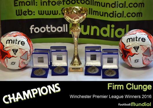 WINCHESTER LEAGUE: Winchester Premier League Winners- Firm Clunge. http://footballmundial.com/articles/view/312/winchester-premier-league-winners-firm-clunge