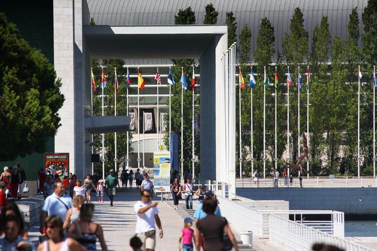 Daily activity in Parque das Nações.