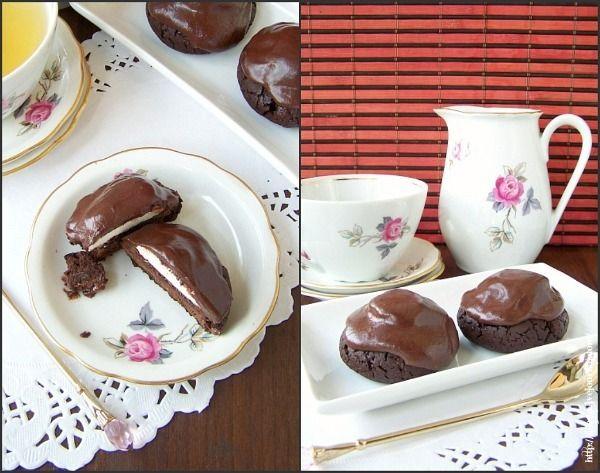 Lillaya - Шоколадное печенье с сюрпризом. глазурь!!!
