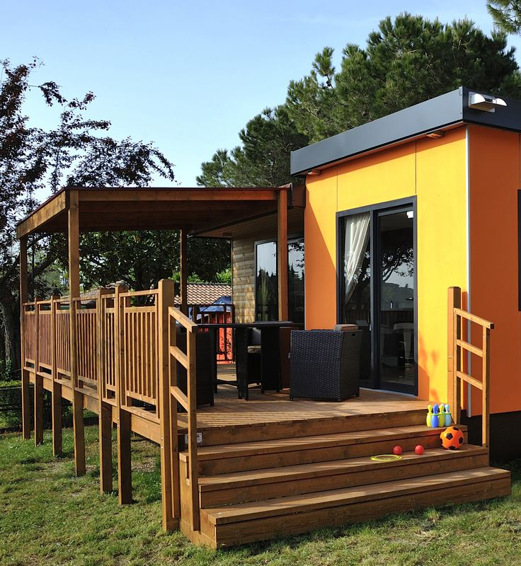 You can stay at the Moda Plus at Camping Eden, Lake Garda.  Visit: www.canvasholidays.co.uk/italy/lake-garda/ga02a/camping-eden