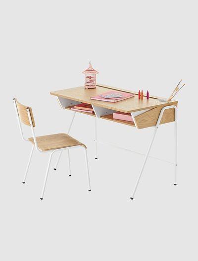 Desk Oak / white