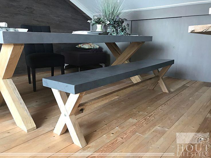 10 beste idee n over beton bankje op pinterest betonnen meubilair zitplaatsen inde tuin en beton. Black Bedroom Furniture Sets. Home Design Ideas