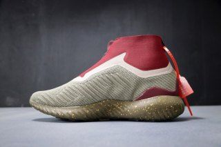 63a3d055f Mens Winter Adidas Alphabounce Zip 330 Trace Olive Trace Cargo-Collegiate  Burgundy red BY4237 Running Shoes