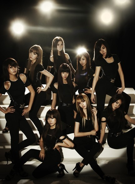 Girls' Generation - Run Devil Run album cover
