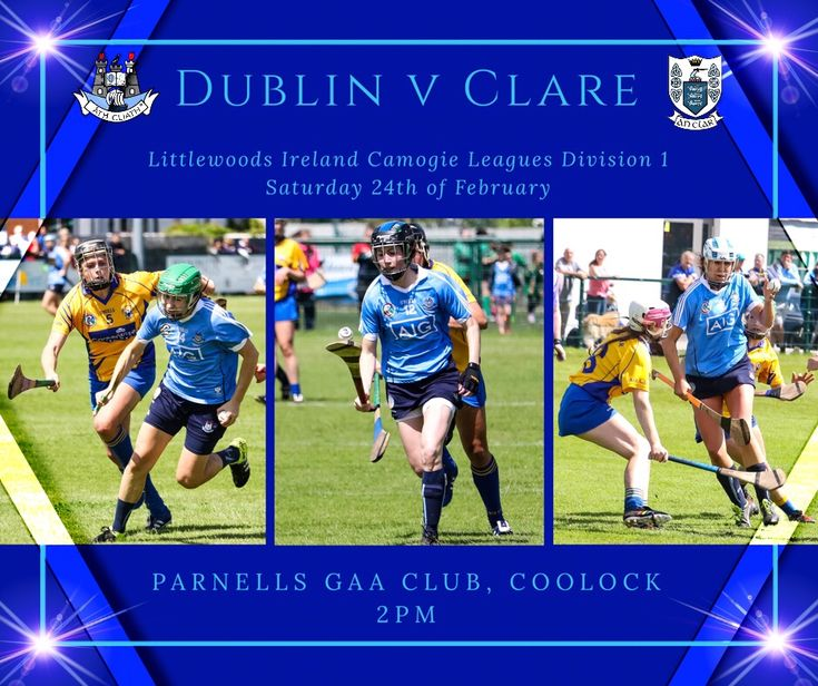 AS YOU WERE FOR THE DUBLIN SENIOR CAMOGIE TEAM FOR FINAL LEAGUE FIXTURE AGAINST CLARE