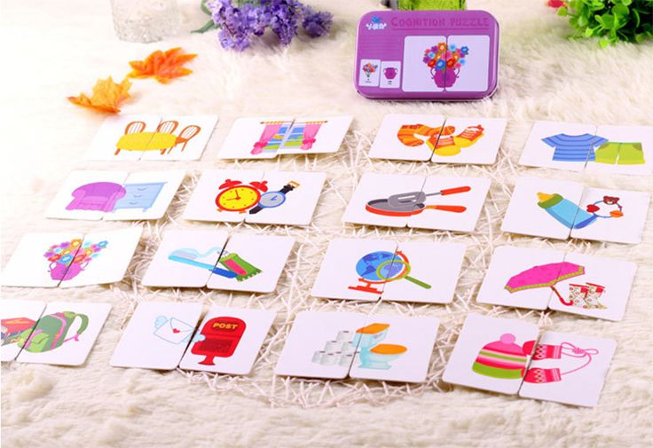 Aliexpress.com : Buy 32pcs/box Kids Baby Cartoon Educational Animal Fruits Traffic Shape Pattern Graph Matching Cards Puzzles Game Toys for Children from Reliable toy pets for kids suppliers on Tonny Store