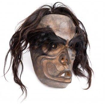 Bugwas mask by Beau Dick (Kwakwaka'wakw).