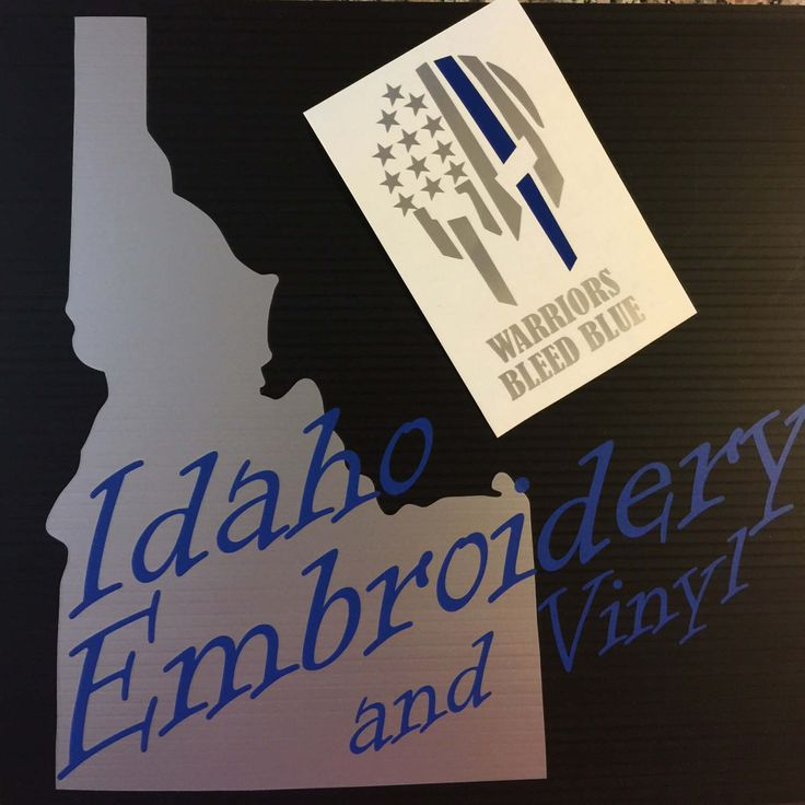 thin blue line spartan, warriors bleed blue, Leo Decal, Back the blue, Police support, thin blue line decal, police decal, skull thin line by IdahoEmbroidery on Etsy