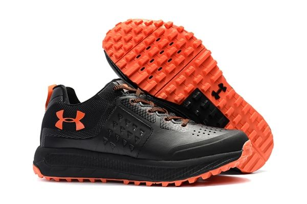 Cheap Free Shipping Under Armour UA Horizon STR Mens Black Orange  WhatsApp:8613328373859