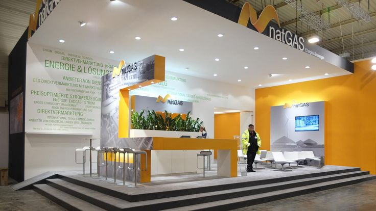 natGAS AG Messe Essen 2015 with new corporate design