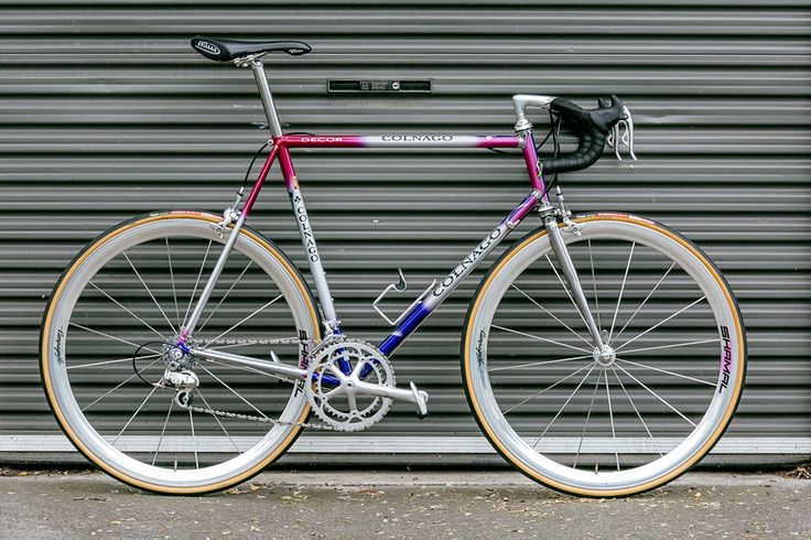 Beautiful Bicycle: Colnago Decor with Campagnolo Record