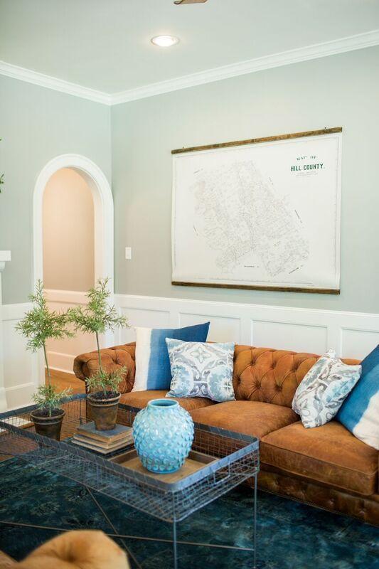 The Nut House | Season 3 | Fixer Upper | Magnolia Market | Living Room | Chip & Joanna Gaines | Waco, TX