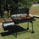 Char-Broil American Gourmet Deluxe Offset Charcoal Smoker and Grill