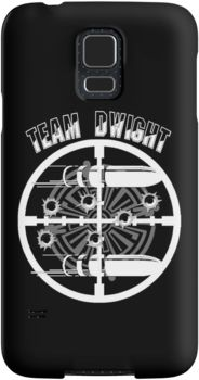 Haven Syfy Inspired Phone Cases/Skins |   Haven Team Dwight Bullet Magnet White Logo | Snap Cases,Tough Cases, & Skins for Galaxy S3-S4-S5-S6-S6 Edge-S6 Edge Plus-S7-S7Edge | iPhone 4s/4 5c/5s/5 6/6Plus SE/5s/5 & iPhone Wallets **All designs available for all models.