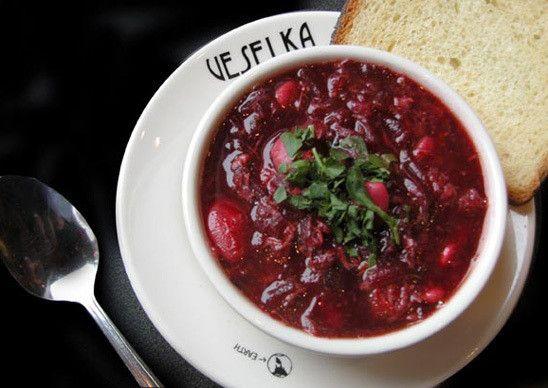 Veselka's Vegan Borscht, A Cult Favorite from NYC's East Village (+ Recipe) - danidee | Vingle | Vegan, Vegetarian Food