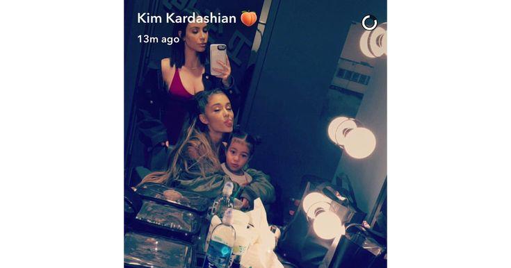 Sa fille North, jeune fan irrésistible d'Ariana Grande                      Qui eut cru qu'Ariana Grande et Kim Kardashian étaient amies ? Alors que la star de l'Incroyable Famille Kardashian ne porte gu�... http://www.purepeople.com/article/kim-kardashian-sa-fille-north-jeune-fan-irresistible-d-ariana-grande_a229717/1