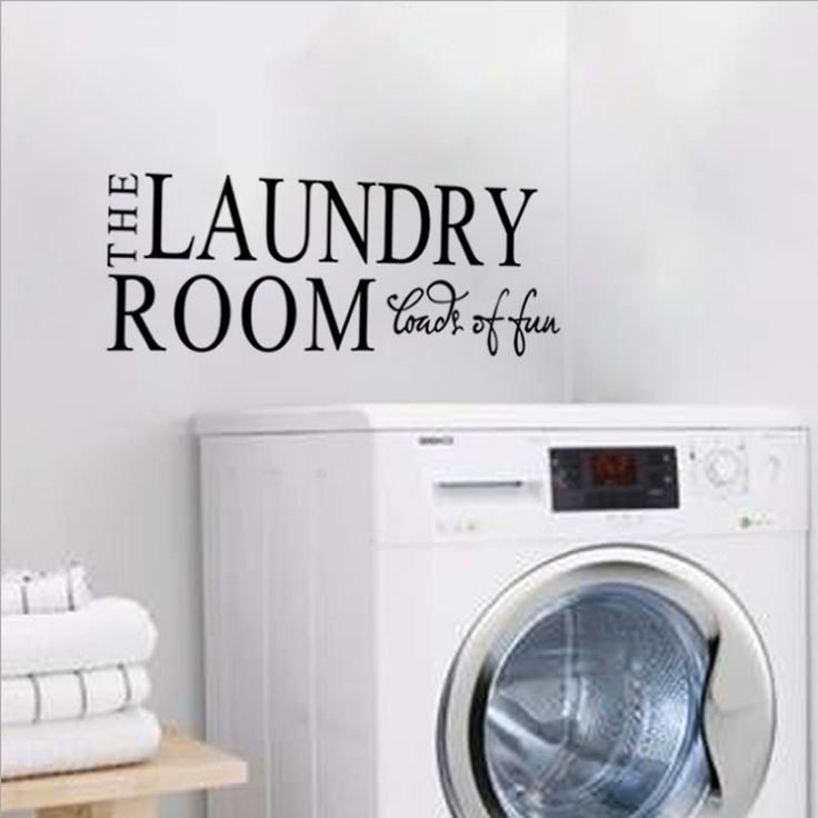 Laundry Room Decal/Wall Sticker  #springcleaning #cleaningtime #hydrogenperoxide #nontoxiccleaningproducts #ilovepyoure #declutter #nontoxiccleaning #neatfreak #cleanhouse #organizing Awesome Hydrogen Peroxide Cleaners and More!