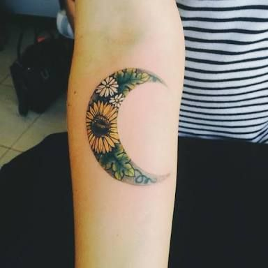 Image result for sunflower tattoo tumblr