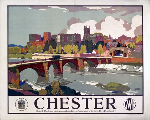 Chester - Bridge by National Railway Museum - art print from Easyart.com