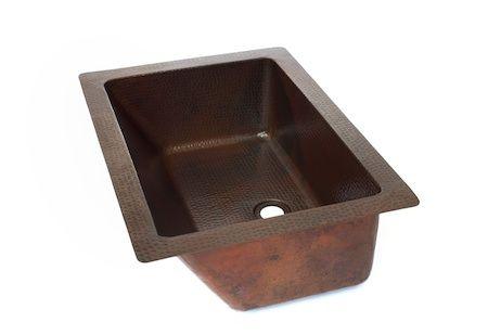 Bravo Bathroom Copper Sink