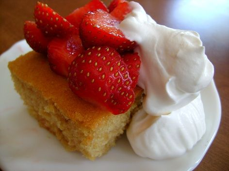Healthy Strawberry Shortcake, Excited About This!!!