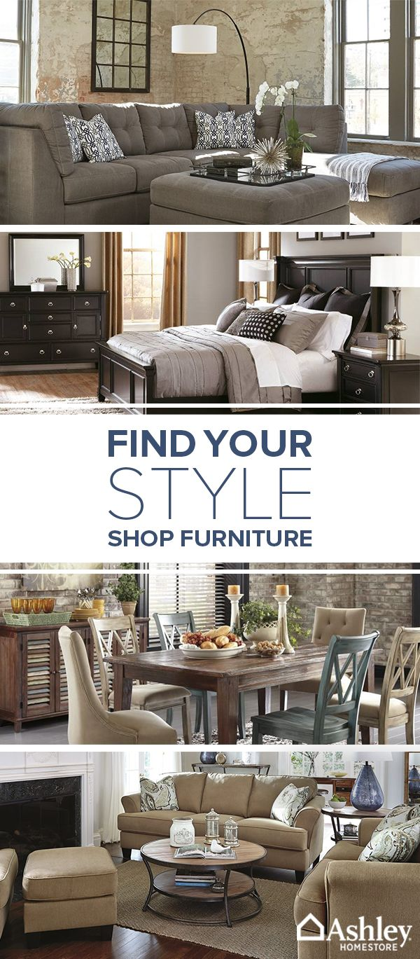 Create a home that speaks to your style with beautiful and affordable furniture from Ashley HomeStore. Make any space your own with furniture for your dining room, bedroom, home office and so much more. Shop the collection today.