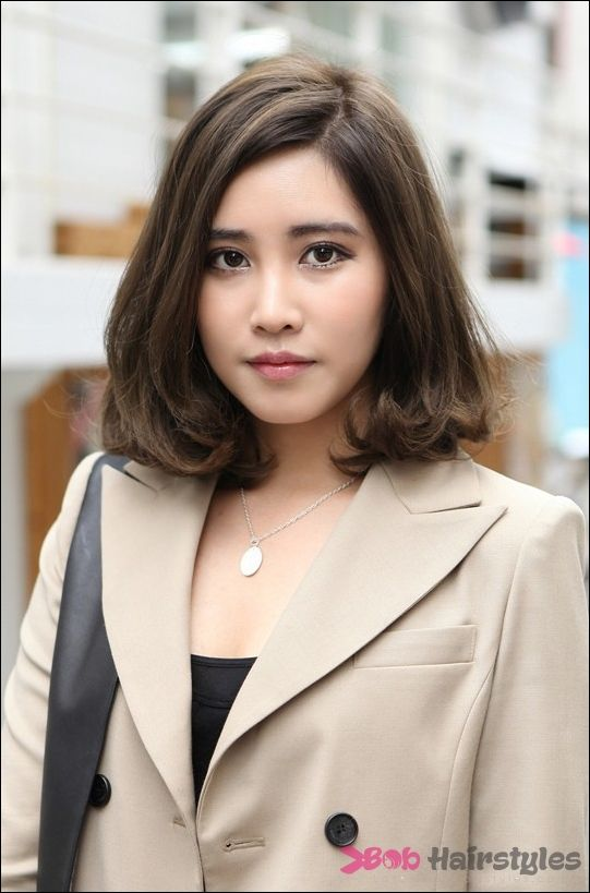 23 Short Bob Hairstyle For Asian Girls   Latest Bob Hairstyles   Page 5