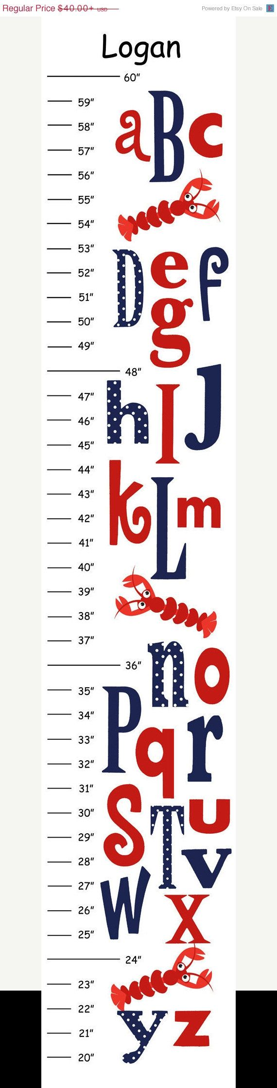 159 best growth charts images on pinterest growth charts canvas items similar to personalized hot pink navy alphabet whale canvas growth chart on etsy nvjuhfo Image collections