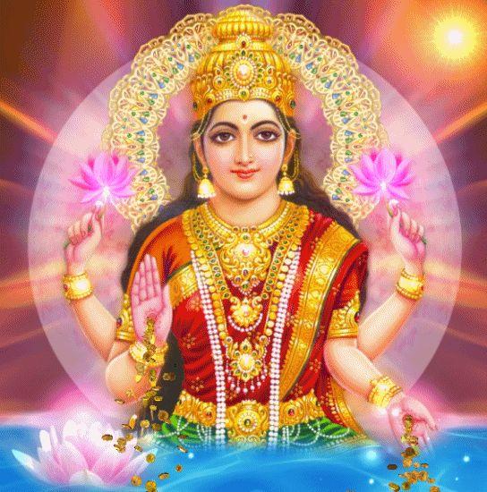 Decent Image Scraps: Goddess Lakshmi Devi Animation - Happy Diwali