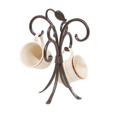 Stone County Ironworks 903-249 Sassafras Mug Rack Sink Accessory