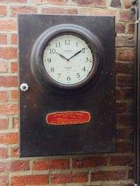 Industrial Clock Cabinet